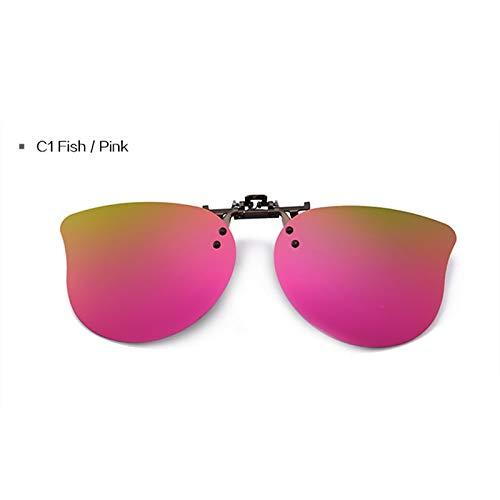 TYJYY Sunglasses Kids Polarized Clip Sunglasses Boys Girls Goggles Cute Sun Glasses Fashion Lens Clip On Myopia Glasses…