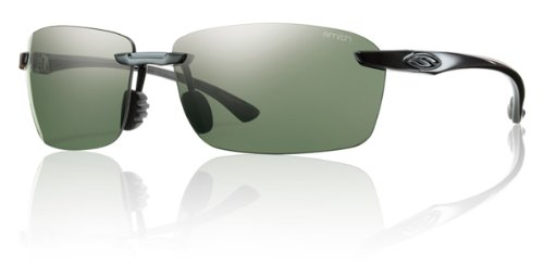 Smith Optics Trailblazer Premium Lifestyle Polarized Active Sunglasses - Black/Gray Green / - Sunglasses Blazer