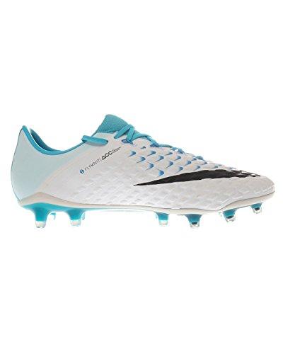 Nike Herren 852567-104 | Hypervenom Phantom III FG Fußballschuhe WHITE/BLACK-PHOTO BL