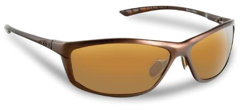 Flying Fisherman Belize Polarized Sunglasses (Matte Copper Frame, Amber Lenses)