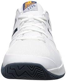 メンズテニスシューズ・スニーカー・靴 MC1296v2 White/Blue 8 (26cm) D - Medium