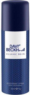 - David Beckham Classic Blue Deodorant Spray - For Men, Boys(150 ml)