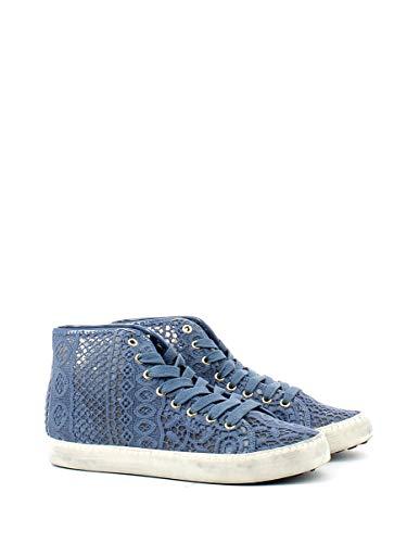 Bleu Pour Baskets Of Femme Colors California AqB7x11