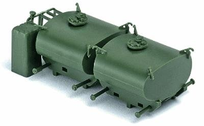 Roco Mini-Tanks Modern German Army BW - Accessories -- Portable Fuel Tanks