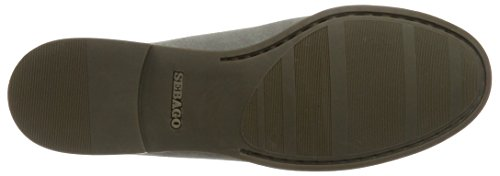 Sebago Damen Plaza II Slipper Grau (Lt Grey Suede)