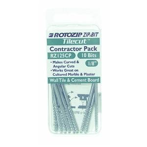 - Roto Zip TC4 1/8-Inch Tile-Cutting Carbide Zip Bits, by RotoZip