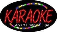 Karaoke Flashing & Animated LED Sign (High Impact, Energy Efficient)