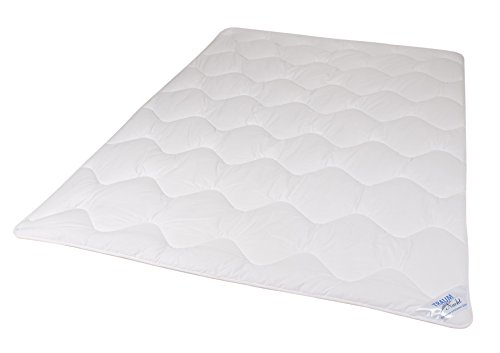 Traumnacht 03831395140 Bettdecke, 3-Star leicht, 135 x 200 cm, weiß