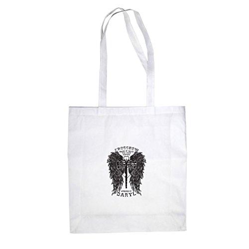 Daryl Wings - Stofftasche / Beutel Weiß