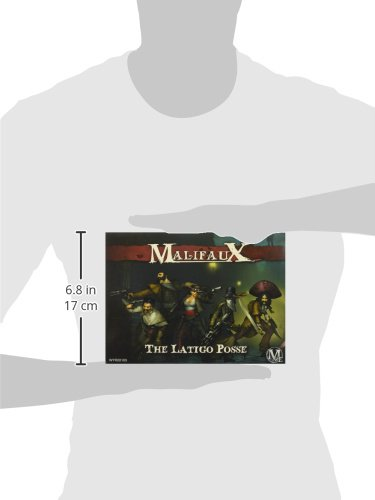 Wyrd Miniatures Malifaux Latigo Posse Model Kit 5