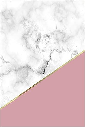 marble gold bullet journal vintage pink marble dot grid journal