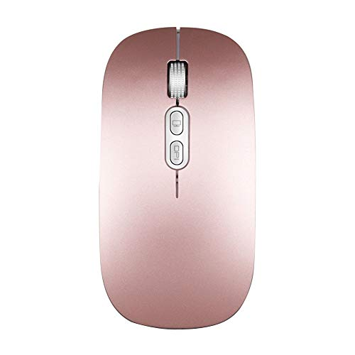 2.4Ghz Wireless Optical USB Gaming Mouse 1600Dpi Rechargeable Mute Mice For - 77 Percussion