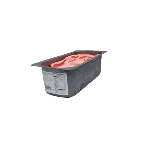 Sorbet, Strawberry Frozen - 143 oz (Pack of 2) by G.S. Gelato (Image #1)