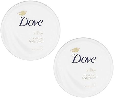 Dove Silky Nourishment Body Cream, 10.1 Ounce / 300 Ml (Pack of 2)