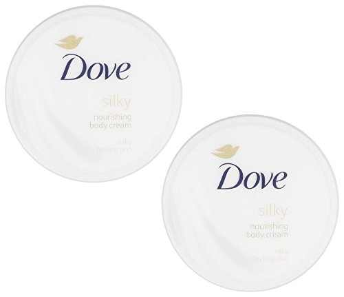 Dove Silky Nourishment Body Cream, 10.1 Ounce / 300 Ml (Pack of 2) (Dove Essential Nutrients)