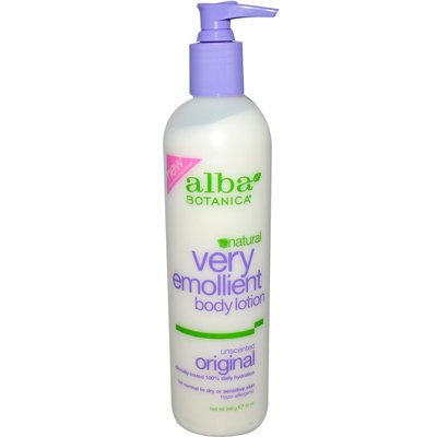 Lotion Botanica Emollient Lotion Moisturizing Alba Very Body (Alba Botanica Very Emollient Body Lotion Original Unscented - 12 fl oz Alba Botanica Very Emollient)