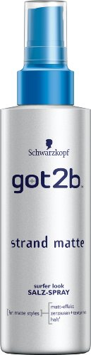 got2b Strandmatte texturierendes Salz-Spray, Halt 3, 3er Pack (3 x 150 ml)