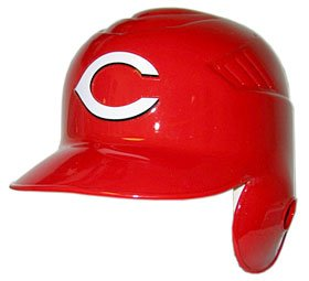 Cincinnati Reds Left Flap Official Batting Helmet by Rawlings