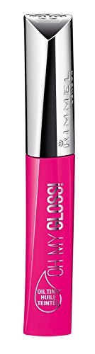 Rimmel Oh My Gloss! Oil Tint, Modern Pink, 0.21 Fluid Ounce