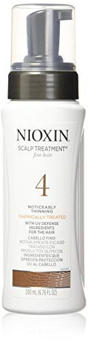 Nioxin Scalp & Hair Leave-In Treatement System 4 (Color Treated Hair/Progressed Thinning), 6.76 Fl Oz