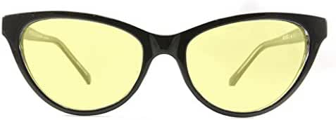 Retro Eyeworks Beverly Computer Glasses 52-17 MM (0x, Black)