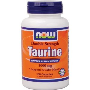 Taurine 1000mg Now Foods, 100-Capsules