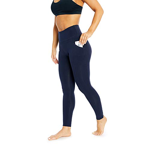 Women's Activewear Control Top Leggings | Designer Quality High Waist Yoga Pants with Tummy Control & Pocket | 27