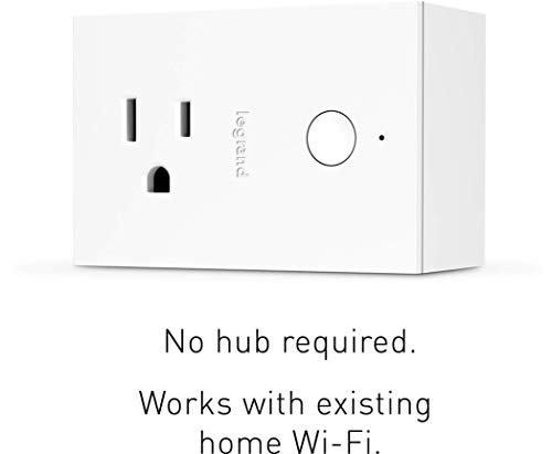 Legrand, Smart Switch, Smart Outlet, Apple Homekit, Quick Setup On iOS (iPhone or iPad), No Hub Required, HKRP10
