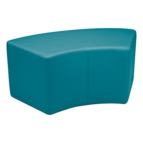 Sprogs Vinyl Soft Seating Curved Stool/Bench, 18