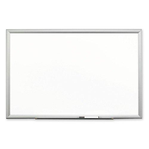 3M Post-it Premium Porcelain Marker Boards-Porcelain Marker Board, Steel Backed, 6'x4', Aluminum (Porcelain Board Marker Premium)