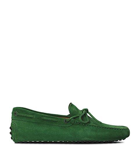 Tod's Mocassini Uomo XXM0GW05470RE0V201 Verde Pelle Verde XXM0GW05470RE0V201 ... 4c7472