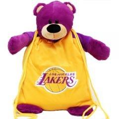 Los Angeles Lakers NBA Basketball Plush Team Mascot Backpack ()