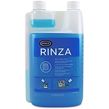 Urnex Rinza Milk Frother Cleaner Alkaline Formula 33.6 Ounce