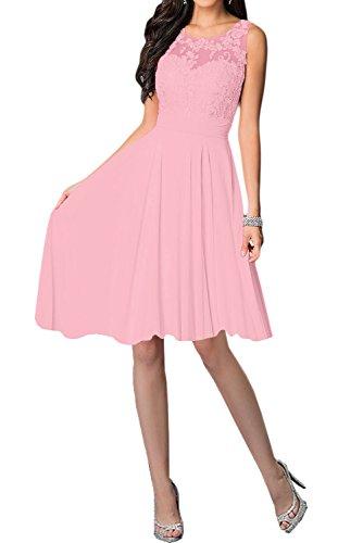 Missdressy - Vestido - trapecio - para mujer Rosa