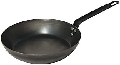 Pyrolux Fry Pan Fry Pan with Triple Riveted Handle, Black, 11052