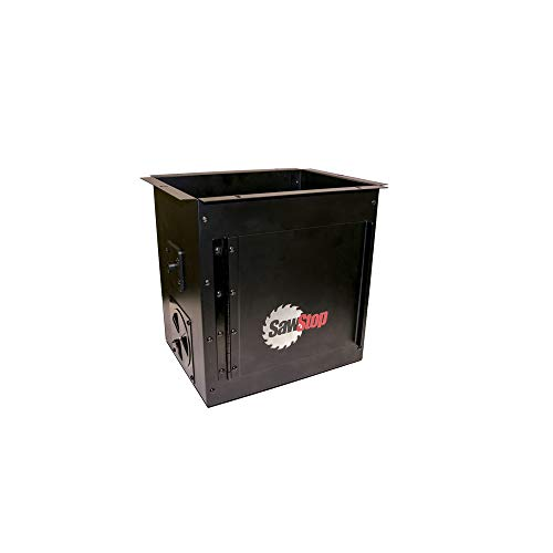 - SawStop RT-DCB Downdraft Dust Collection Box for Router Lift
