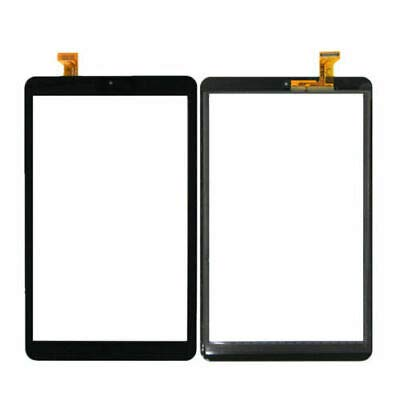 TheCoolCube Touch Digitizer Replacement Screen Glass Compatible with Samsung Galaxy Tab A 8.0 2018 T387 SM-T387V T387T T387A (2018) (Not Include LCD) (Black)