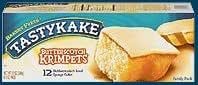 3 PACKS Tastykake Butterscotch Krimpets Tastycakes