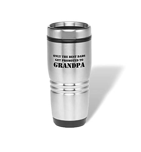 PlusTactical Expression Stainless Steel Tumbler (Only The Best Dads Get Promoted to Grandpa)