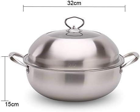Haut de gamme Heavy Duty Steamer en acier inoxydable Pot Set Stack et à vapeur Pot Set for toutes les cuissons Surfaces