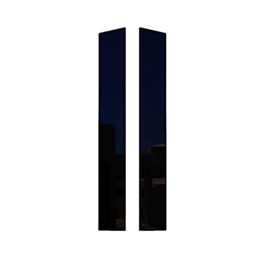 Ferreus Industries Piano Black Pillar Post Trim Cover fits: 2006-2011 Honda Civic 2 Door Coupe PIL-140-GB ()
