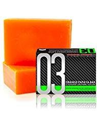 1 BAR LUXXE SOAP 03 Luxxe Celebrity Soap +Orange Papaya+ Glutathione+ Kojic Acid