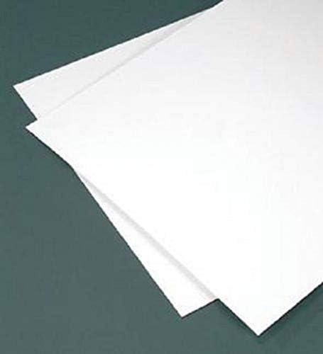 6 x 12 Styrene Sheet 0.5mm x3 for Model /& Hobby Squadron PS002