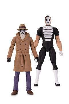 DC Collectibles Doomsday Clock: Rorschach/Mime Action Figure Two Pack ()
