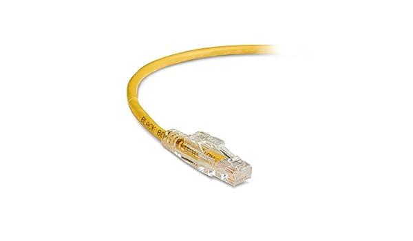 30 CAT6 Lockable Patch Cable Black Box C6PC70-VT-30 Pack of 6 pcs