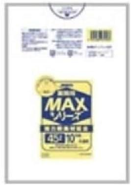 (業務用200セット)ジャパックス MAXゴミ袋 S-53 半透明 45L 10枚 【×200セット】 生活用品 インテリア 雑貨 日用雑貨 掃除用品 [並行輸入品]