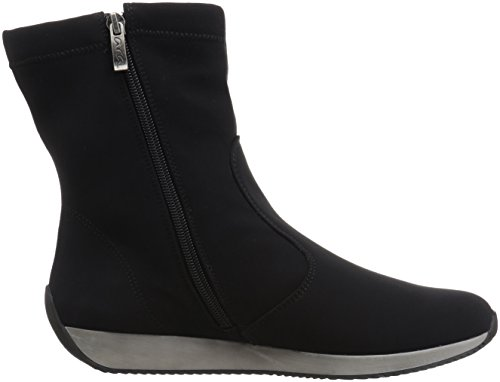 Fabric Luella Black Boot Ankle Women's ara BOHfX