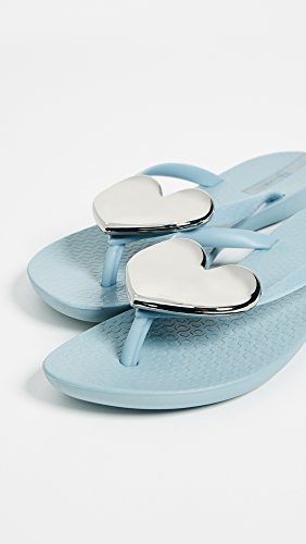 silver Flip Ipanema Wave Heart Grey flop Women's C4qY4R