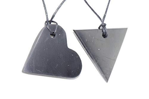 TIMESTONEUSA Pendant. Heart + Triangle Female. S-2 ()