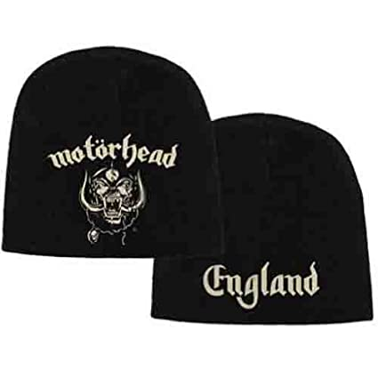 67b1f0b1e71 Amazon.com   Motorhead England Beanie Hat (Official Licensed Product)    Everything Else